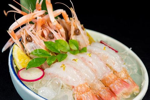 Large Scampi Sashimi