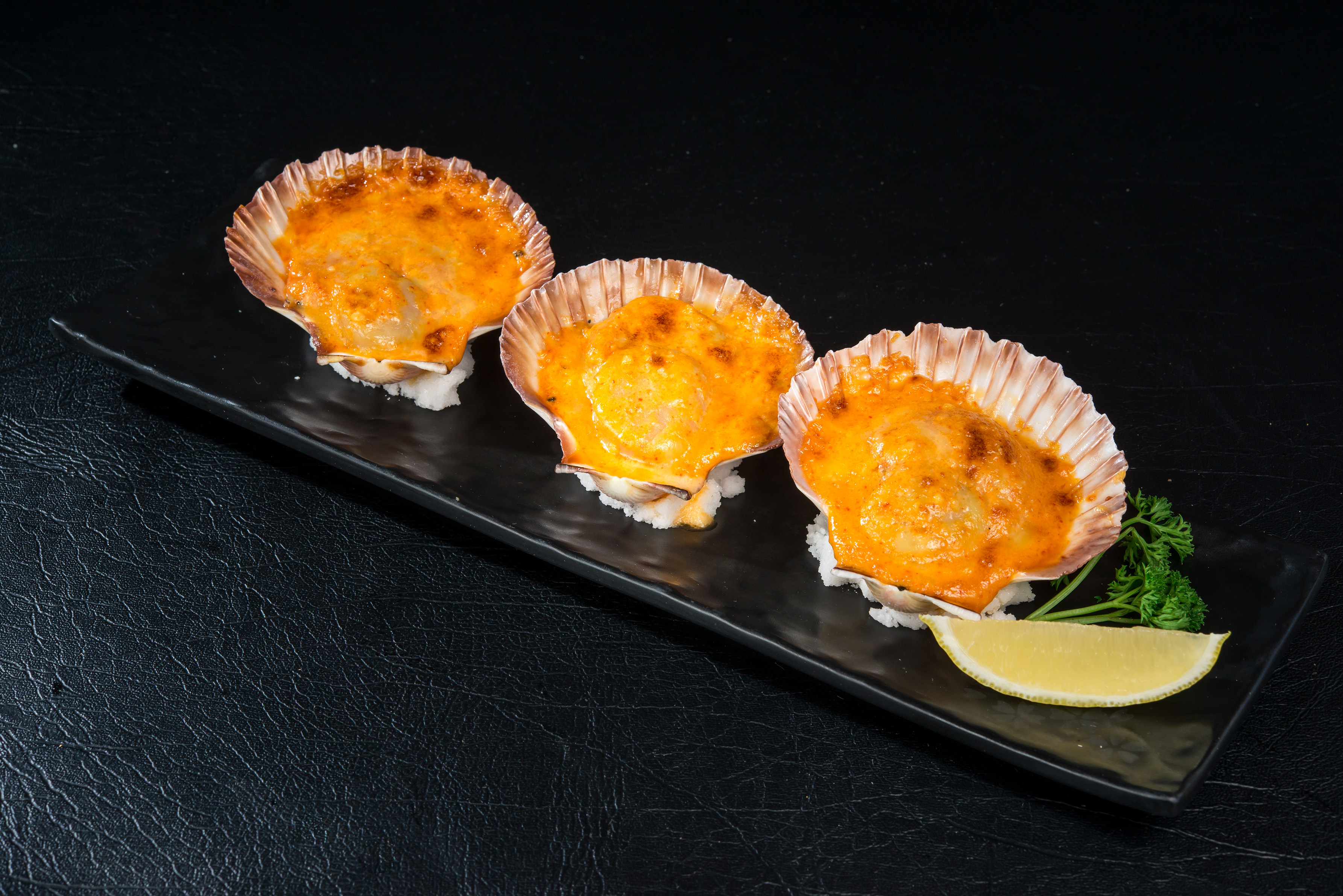 Spicy Grilled Cheese Scallop