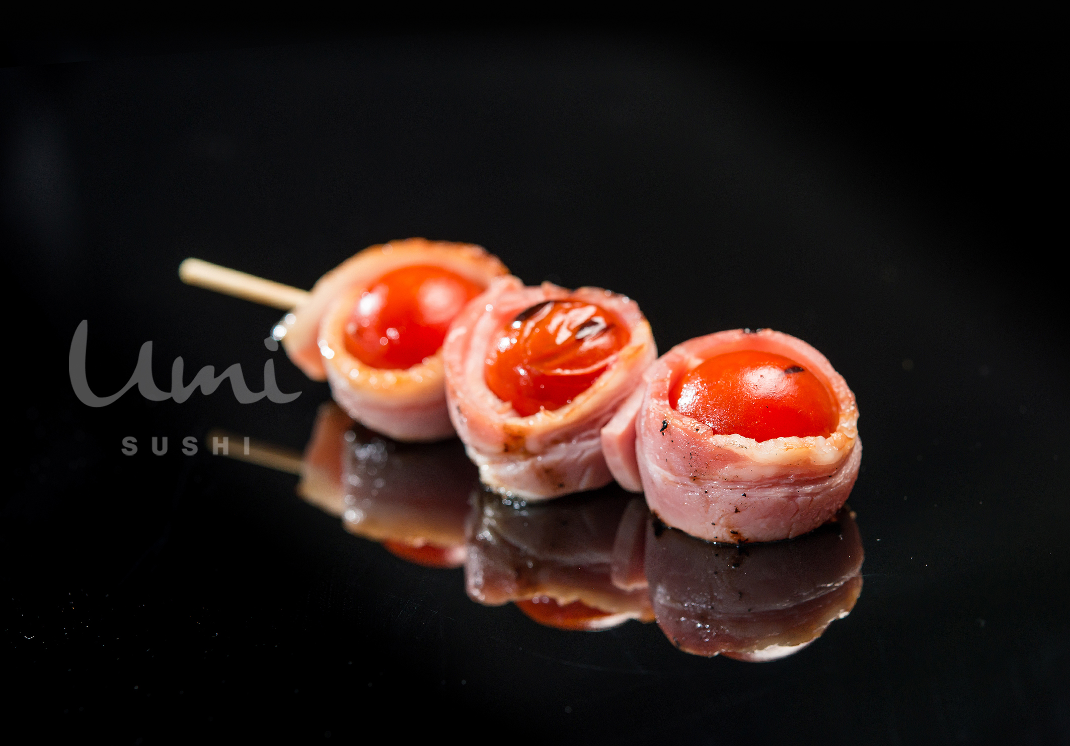 Bacon with Cherry Tomatoes