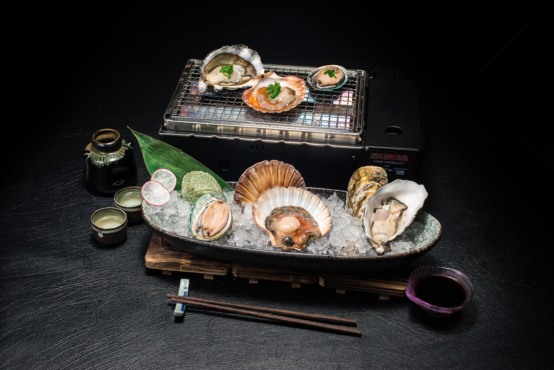 live Seafood BBQ Set