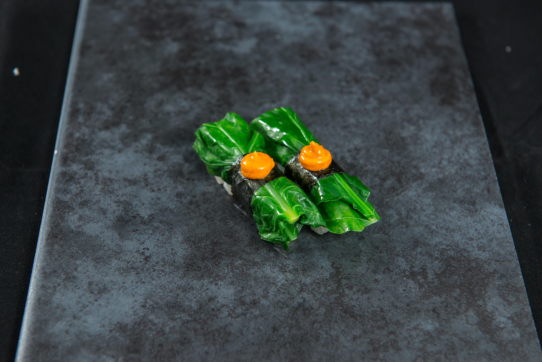 Takana Broccoli with Chilli Mayo
