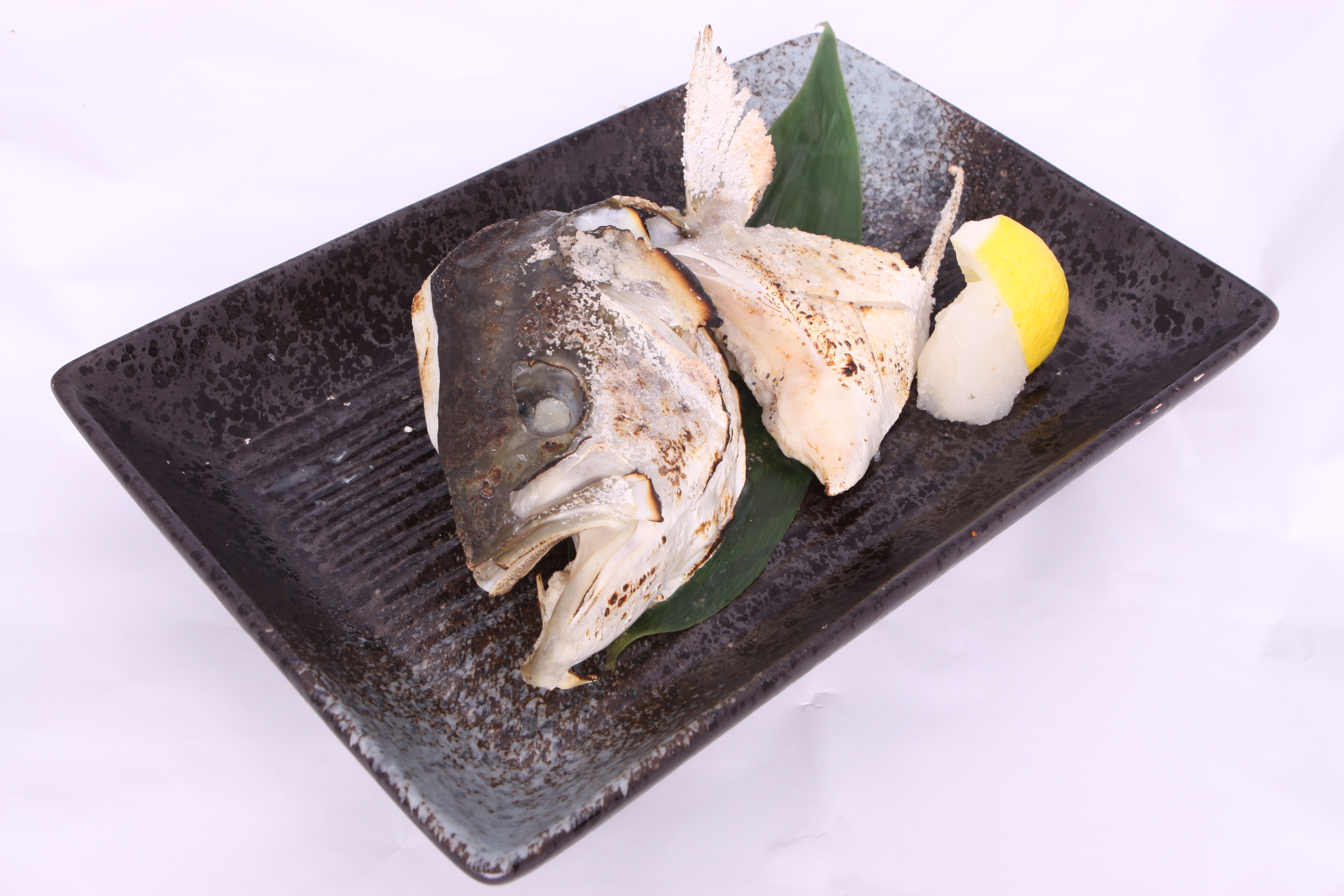 Grilled King Fish Head