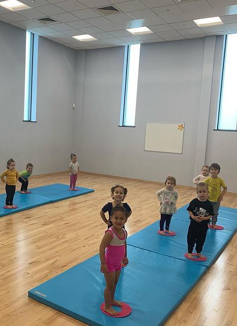 Pre School Acrobatic Dance Class