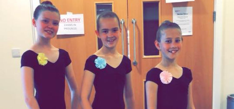 Ballet Exam Students at The Hebden School of Dancing