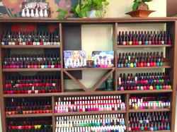 Fancy Nails Wall Of Nails Polish