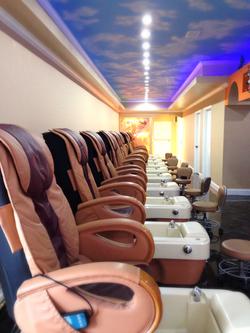 Fancy Nails Pedicure Room