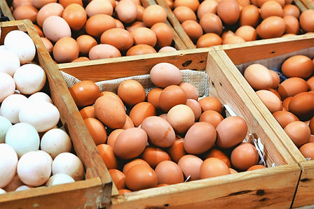 Locally sourced eggs