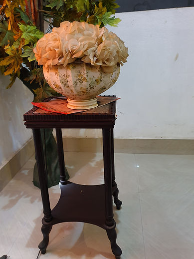 showpiece | basudev wood