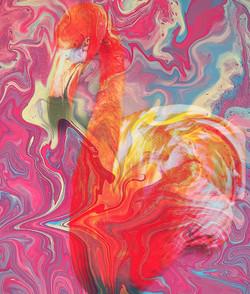Camo Flamingo