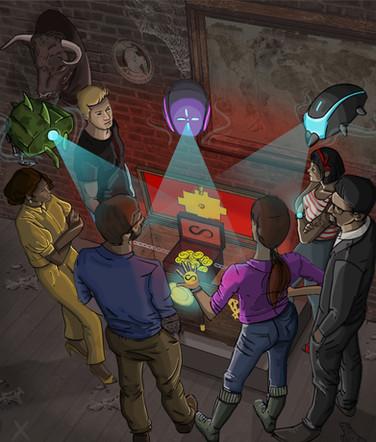 Digital illustration - Atlantis Resurrected