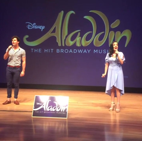 Aladdin the Musical Preview - A Whole New World