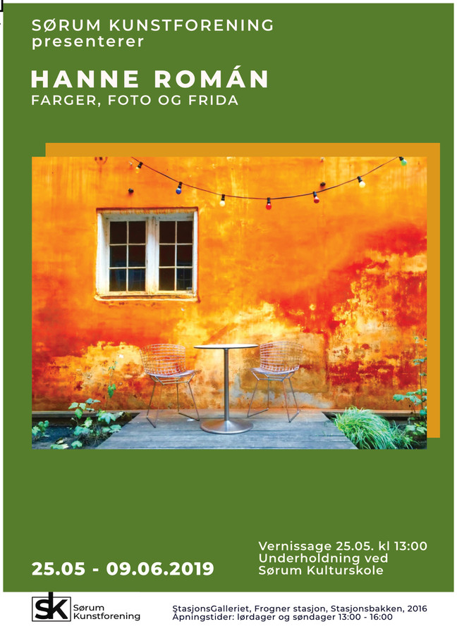 Utstilling på StasjonsGalleriet på Frogner