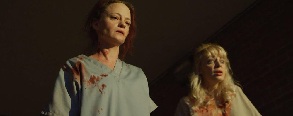 Angela Bettis stars as Mandy in 12 Hour Shift