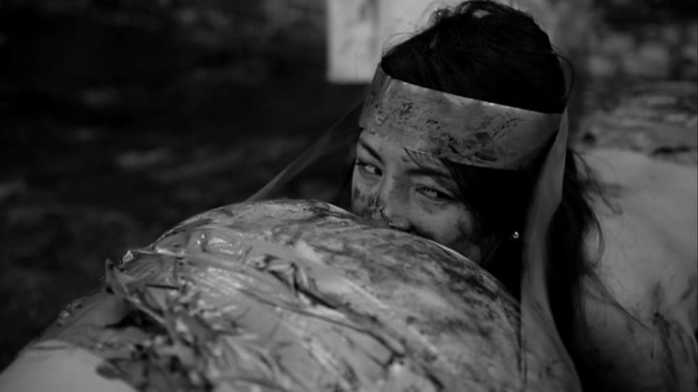 Actress Emma Lock plays Kim in Human Centipede 2