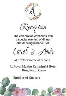 CAMI Wedding RSVP