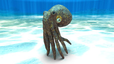 Zbrush octopus