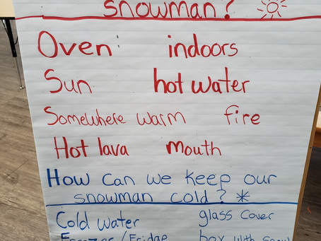 Learning with Snowmen