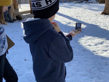 Winter Outdoor Classroom