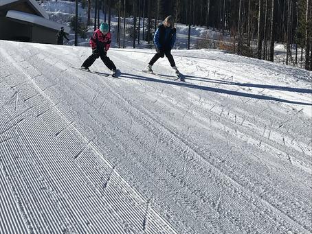 Cross Country Ski Lesson