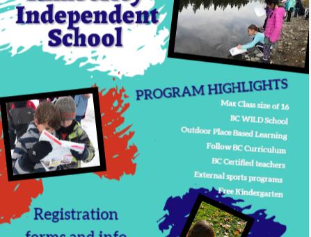 Kindergarten -Grade 9 Registration Now Open