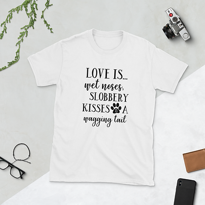 "Ladies Custom T-shirt - ""Love Is..."""