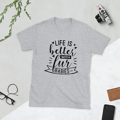 "Ladies Custom T-shirt - ""Life Is Better..."""
