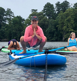 Stand Up Paddle-board (SUP) Yoga