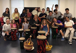 Drum Circle Workshop at The University of Virginia