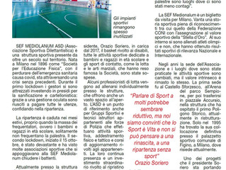 Lo sport è vita!