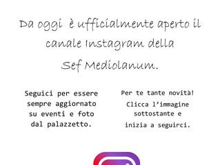 Anche su Instagram!