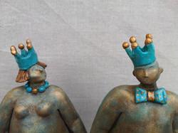 couple royal - détail