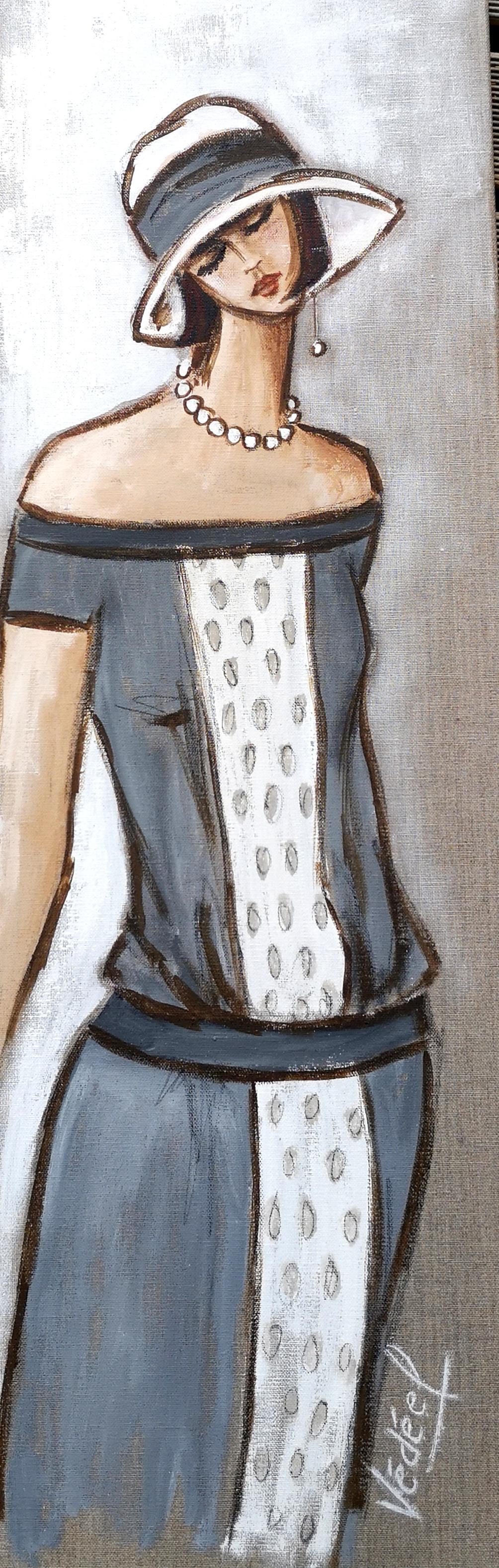 Les années 30 - 3 - acrylique sut toile