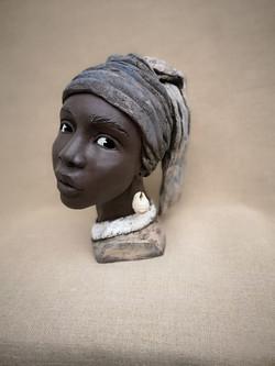 Perle d'Afrique - d'après Wermeer ...