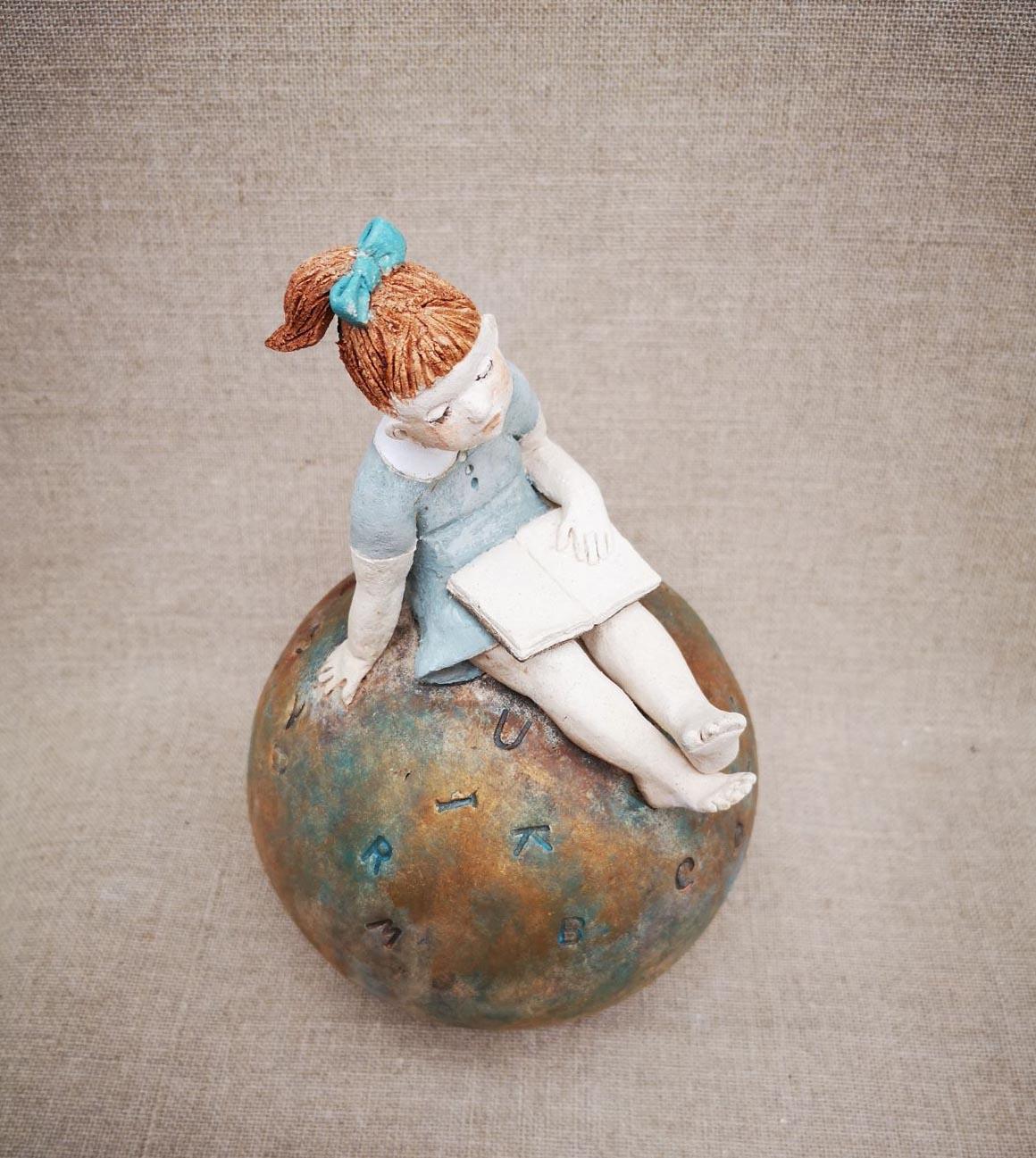 petite liseuse sur boule - 1
