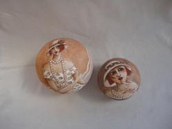 Boules gravées III