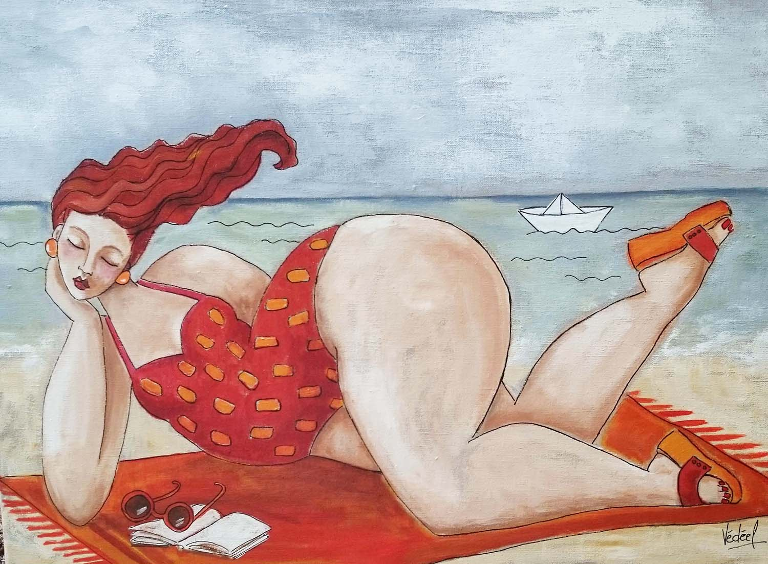 RELAX !   acrylique sut toile