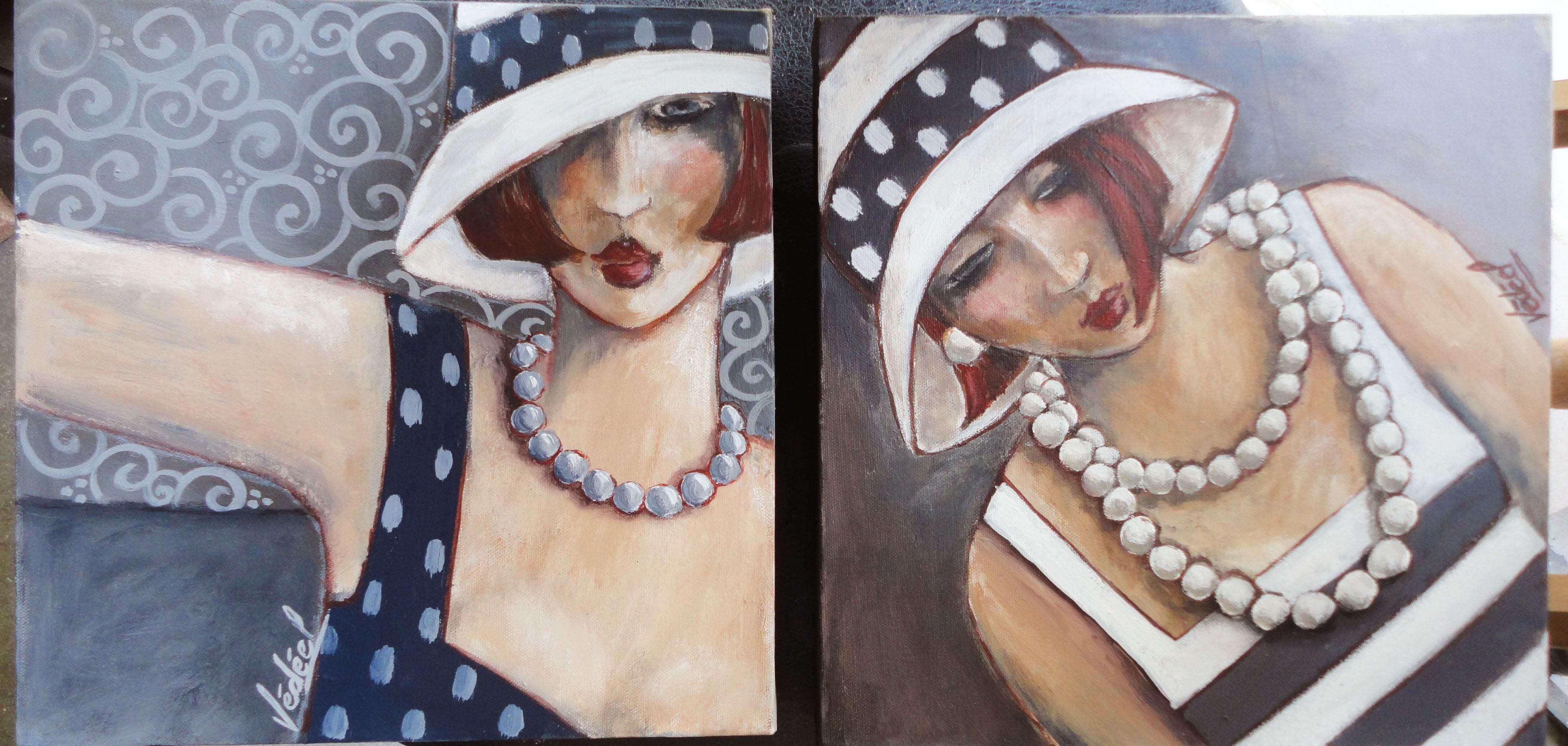 Chapeaux et colliers