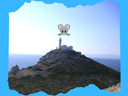 Die Maus auf dem Leuchtturm