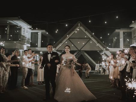 The Most Romantic Wedding of Widodo & Devina at Villa Phalosa Bali
