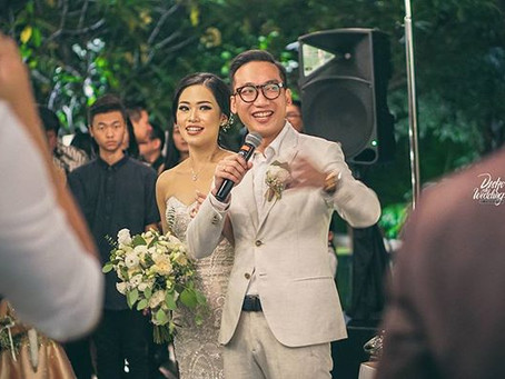 Casual-Intimate yet Awesome Reception at Wyl's Kitchen Jakarta