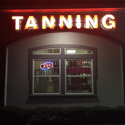 Our new TANNING lights