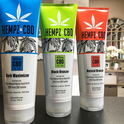 All new Hempz with 400mg of 99% CBD isol