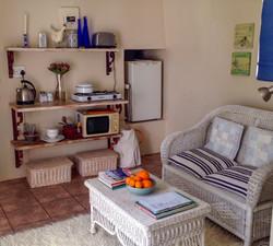 Lavender Cottage kitchenette