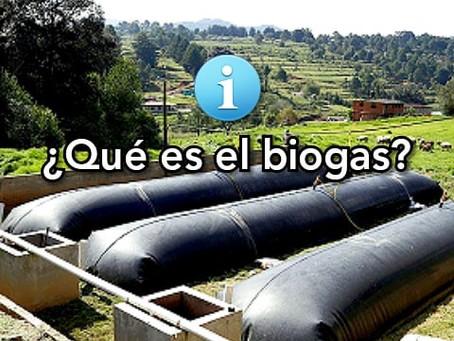 ¿Qué es el biogas?