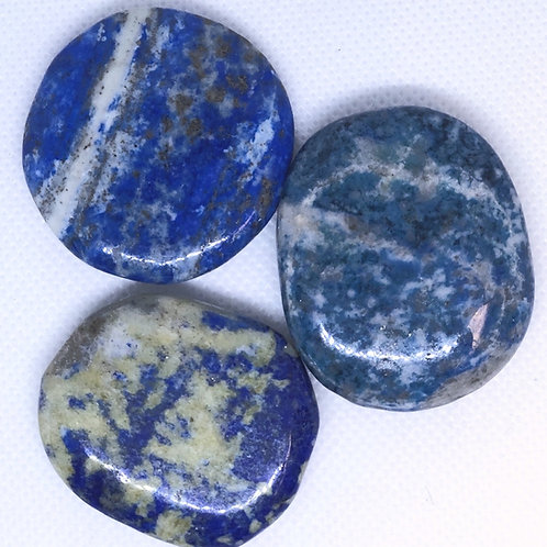 Lapis Palm Stone