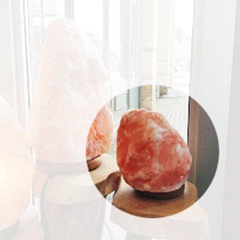 SMALL HIMALAYAN SALT ROCK LAMP