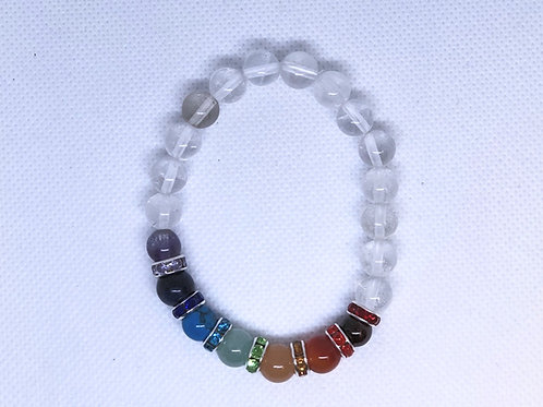 Chakra with Quartz Bracelet