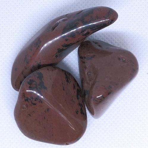 Tumbled Mahogany Obsidian