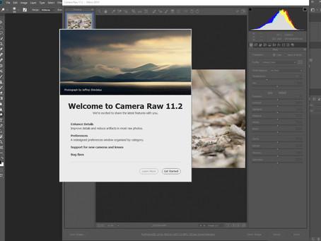 Probleme de actualizare Adobe Camera Raw 11.2