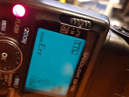 Cum mi-am bagat nasul în blițul meu Nikon SB700
